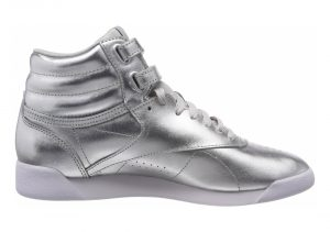 Reebok Freestyle Hi Metallic - Silver (BS9944)