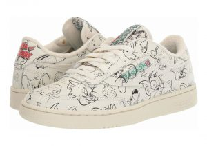 Reebok Tom And Jerry Club C 85 - Chalk/Paperwhite/Excellent Red (FX4011)