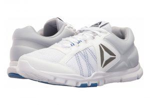 White/Vital Blue/Cloud Grey (BS8033)