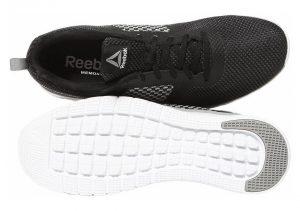 Reebok PT Prime Runner FC - Black Black Coal Chalk White Silver Steel 000 (CN3153)