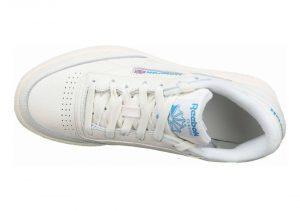 Reebok Club C 85 MU - Chalk / Paper White / Cyan (DV8811)
