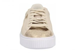 Puma Basket Platform Canvas - Beige (36649401)