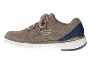 Skechers Flex Advantage 3.0 - Stally - Beige Taupe Blue Tpbl (TPBL)