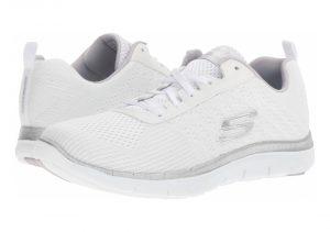 Skechers Flex Appeal 2.0 - Break Free - White Wsl (WSL)