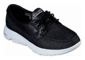 Skechers GOwalk 5 - Captivated - Black/White (BKW)