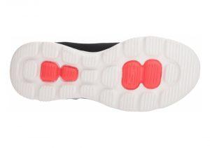 Skechers GOwalk Evolution Ultra - Reach - Black Black Textile White Trim Bkw (011)