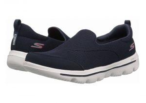 Blue Navy Textile White Trim Nvw (424)