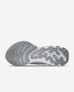 Nike React Infinity Run Flyknit White/Pure Platinum/Metallic Silver