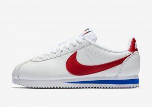 """Nike Classic Cortez """"White/Varsity Royal-Varsity Red"""