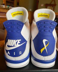 Air Jordan 4 x Peyton Smith