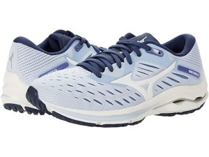 Mizuno Wave Rider 24 Arctic Ice/Snow White