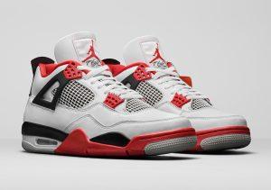 "Air Jordan 4 ""Fire Red"""