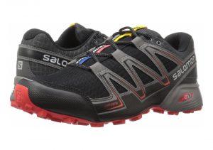 Salomon Speedcross Vario - Schwarz Black Magnet Fiery Red (L394662)