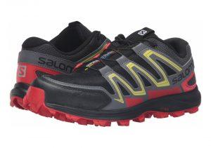 Salomon Speedtrak - Black/Radiant Red/Corona Yellow (L390624)