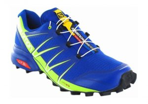 Salomon Speedcross Pro - Blau Surf The Web Lime Green Black 4 (L392389)