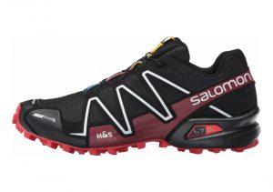 Salomon Spikecross 3 CS - Black / Radiant Red / White (L383154)