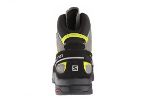 Salomon X Alp Mid LTR GTX - Shadow, Castor Gray, Lime Punch (L394723)