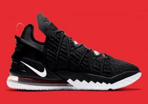 Nike LeBron 18 Black/Red