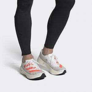 """Adidas Adizero Adios Pro """"Cloud White/ Signal Coral/Core Black"""""""