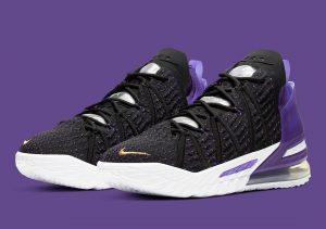 "Nike LeBron 18 ""Lakers"""