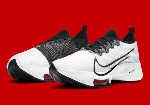 Nike Air Zoom Tempo Next% White/University Red/Black