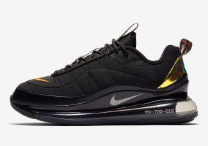 Nike MX-720-818 Black/Magma Orange/University Red