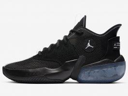 Jordan React Elevation Black/Grey/White