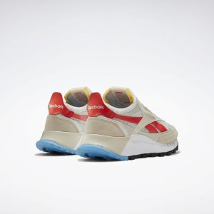 Reebok Classic Leather Legacy Beige/Chalk/Laser Red