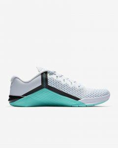 Nike Metcon 6 Football Gray/Incredible Jade/Black/Flash Crimson