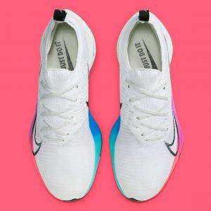 Nike Air Zoom Tempo Next% White/Black/Hyper Violet/Flash Crimson/Spruce Aura