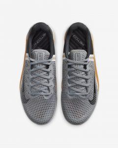 Nike Metcon 6 Light Smoke Gray/Snow White/Rubber Brown/Dark Smoke Gray