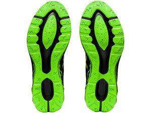 Asics Dynablast Black/Green Gecko