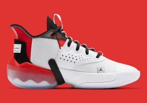 Jordan React Elevation White/University Red/Black