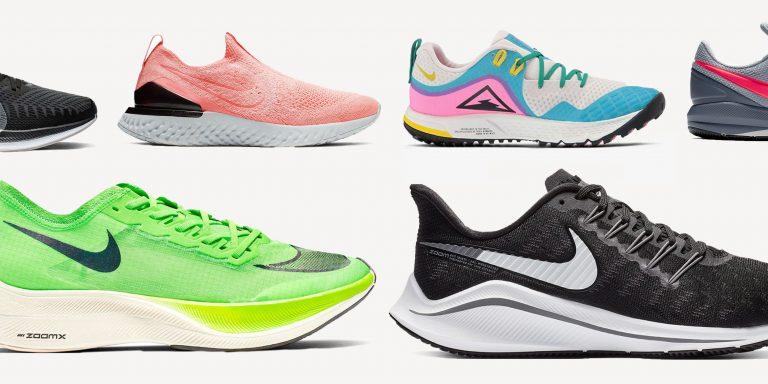 Лучшие беговые кроссовки от Nike