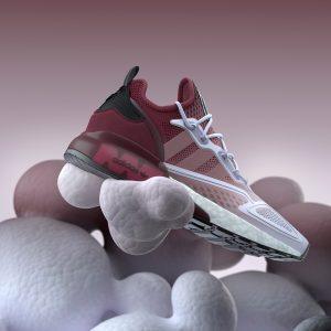 Adidas ZX 2K Boost White/Violet Pink