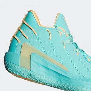 Adidas Dame 7 Acid Mint/Acid Orange/Acid Mint