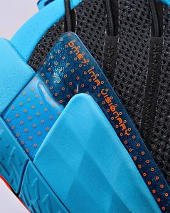 Adidas Dame 7 Black/Red/Blue