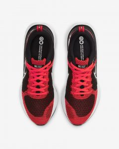 Nike React Infinity Run Flyknit 2 Bright Crimson/Black/Dark Smoke Gray/White