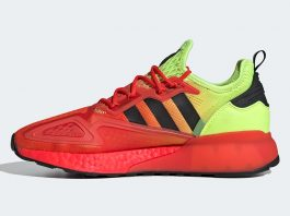 Adidas ZX 2K Boost Solar Yellow/Hi-Vis Red