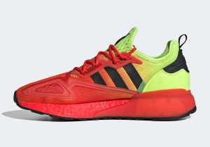 Adidas ZX 2K Boost Solar Yellow/Hi-Vis Red