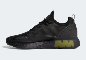 Adidas ZX 2K Boost Core Black/Solar Yellow/Cloud White