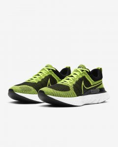 Nike React Infinity Run Flyknit 2 Light green/ Black/Sequoia