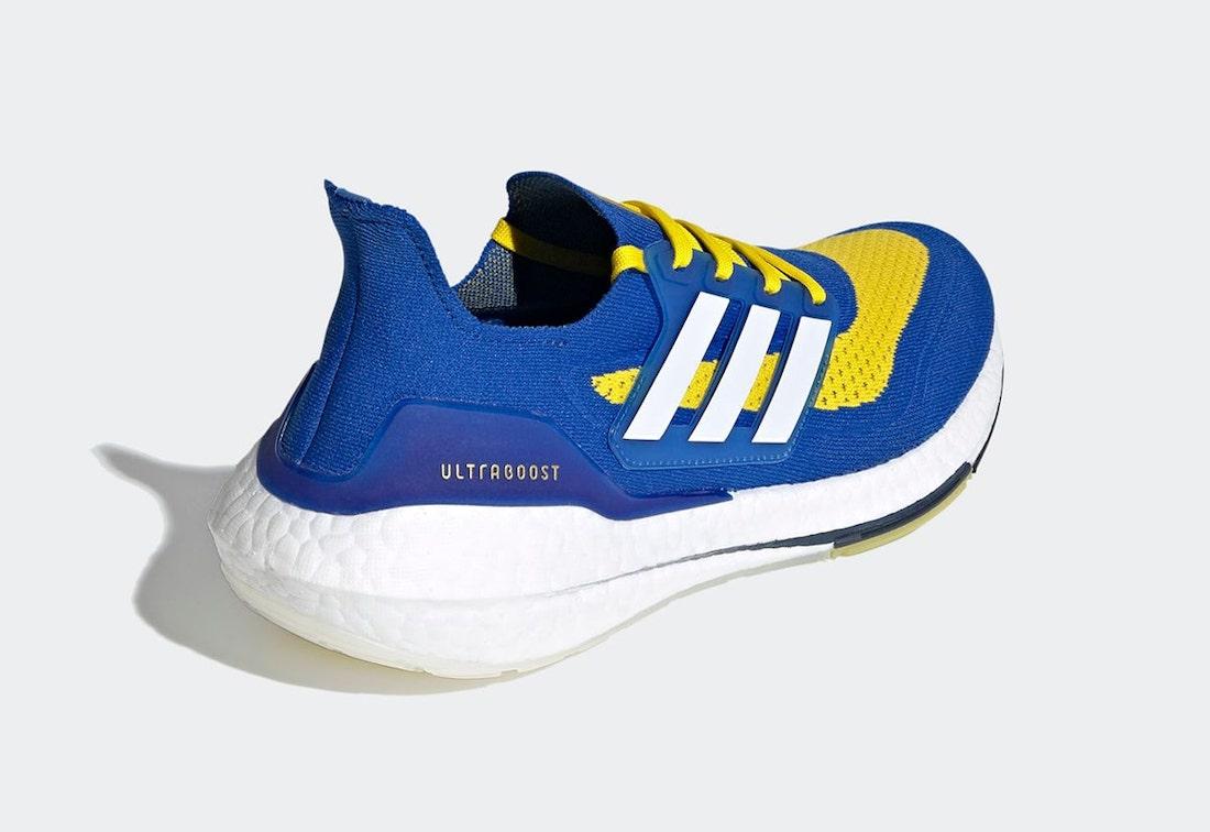 Adidas Ultra Boost 2021 «LA Rams»