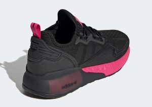 Adidas ZX 2K Boost Core Black/Shock Pink