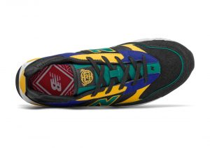 New Balance X-Racer Black/Team Teal