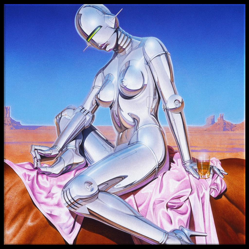 Sexy Robot by H Sorayama