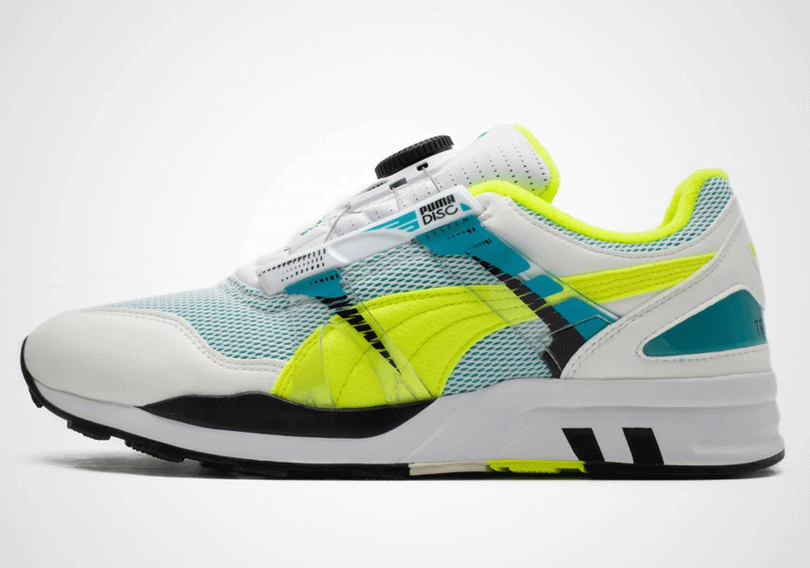 Puma XS 7000 OG White/Grey/Neon