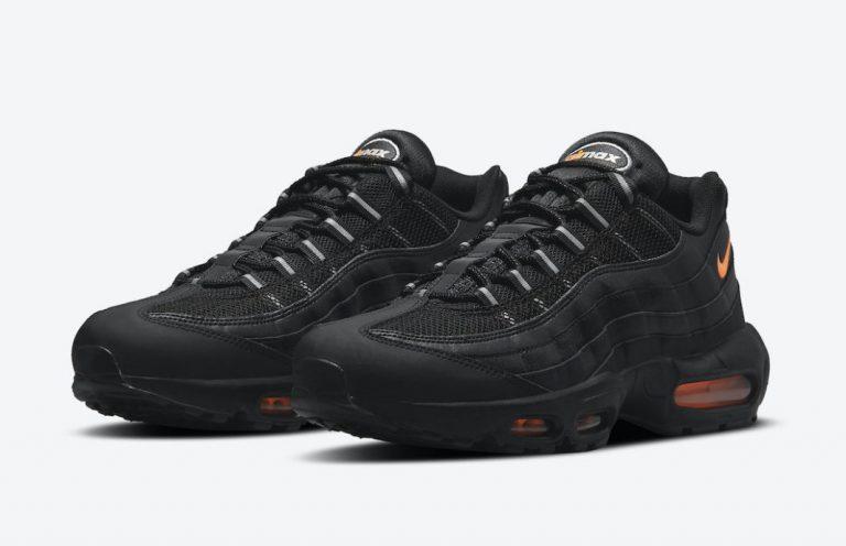 Nike Air Max 95 «Black/Orange»