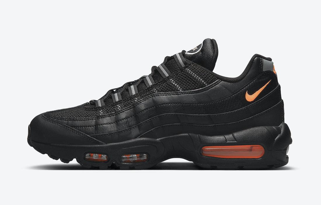 Nike Air Max 95 Black/Orange