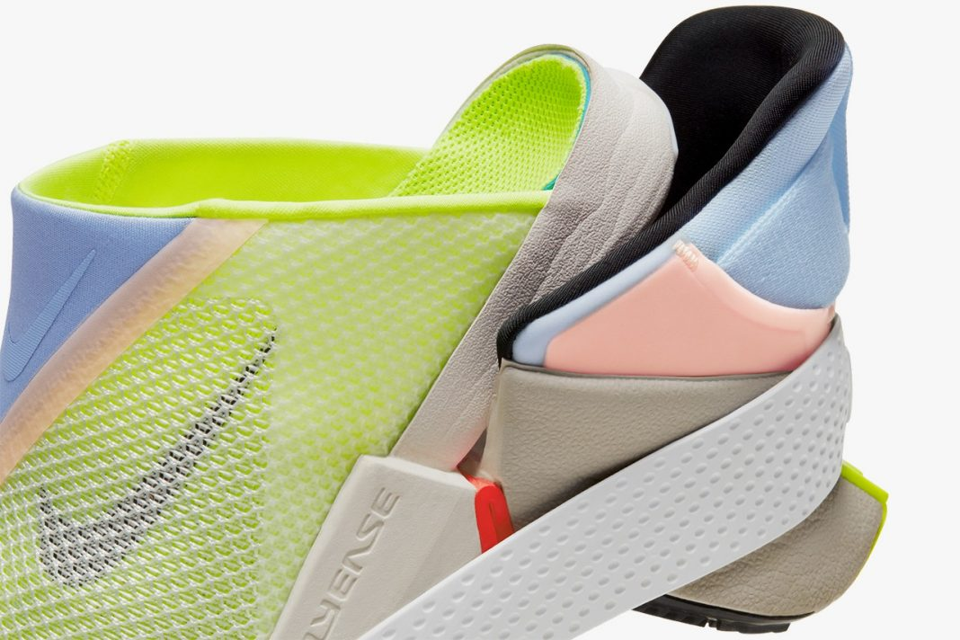 Nike GO FlyEase White/Celestine Blue-Volt